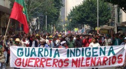 Continúa la campaña de exterminio en contra de la Guardia Indígena