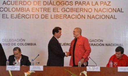La solución política avanza hoy con inicio de diálogos públicos con ELN
