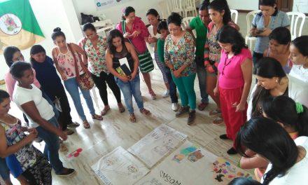 Construcción de paz y economía propia, temas de la Segunda Escuela Nacional de Mujeres del CNA
