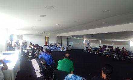 Cambios para la vida, derechos para la paz; Declaración política asamblea anual CCEEU