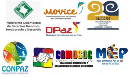 Organizaciones de víctimas y DDHH respaldan justicia transicional acordada en la Habana