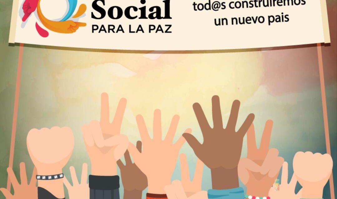 Un actor clave: la Mesa Social para la Paz