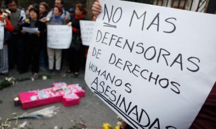 En Colombia los defensores de DD.HH. sufren una agresión cada tres días