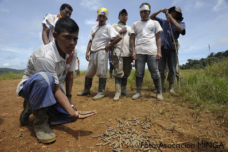 Por falta de garantías y el no reconocimiento a los derechos ancestrales, Ñambi Piedra verde está de luto