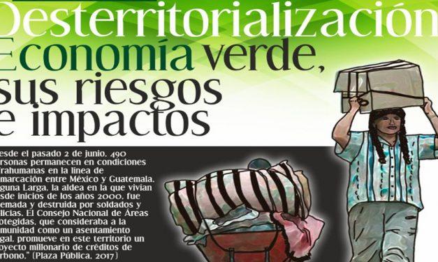 """Conversatorio público: «Desterritorialización: Economía verde su riesgos e impactos"""""""