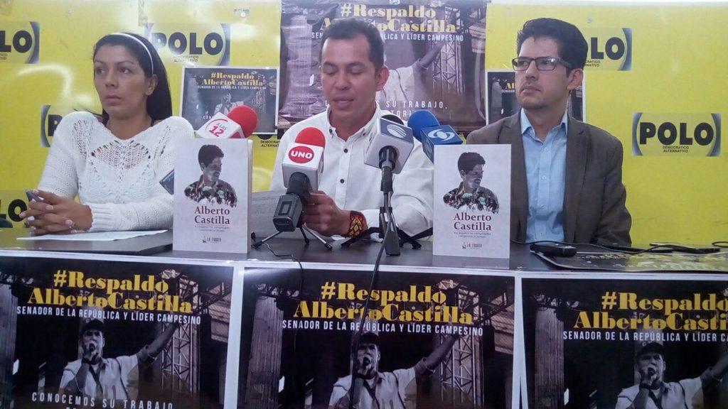 Sociedad civil rechaza persecución política contra los luchadores sociales Senador Alberto Castilla y el Representante Germán Carlosama