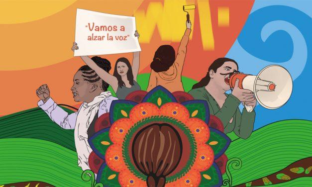 «Trenzando por la vida, los territorios y la paz»: la gran movilización de las mujeres este 8 de marzo