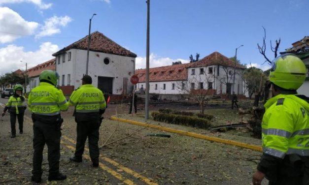 Organizaciones de Ddhh, sociales y de víctimas condenamos el atentado contra la escuela de policía general Santander