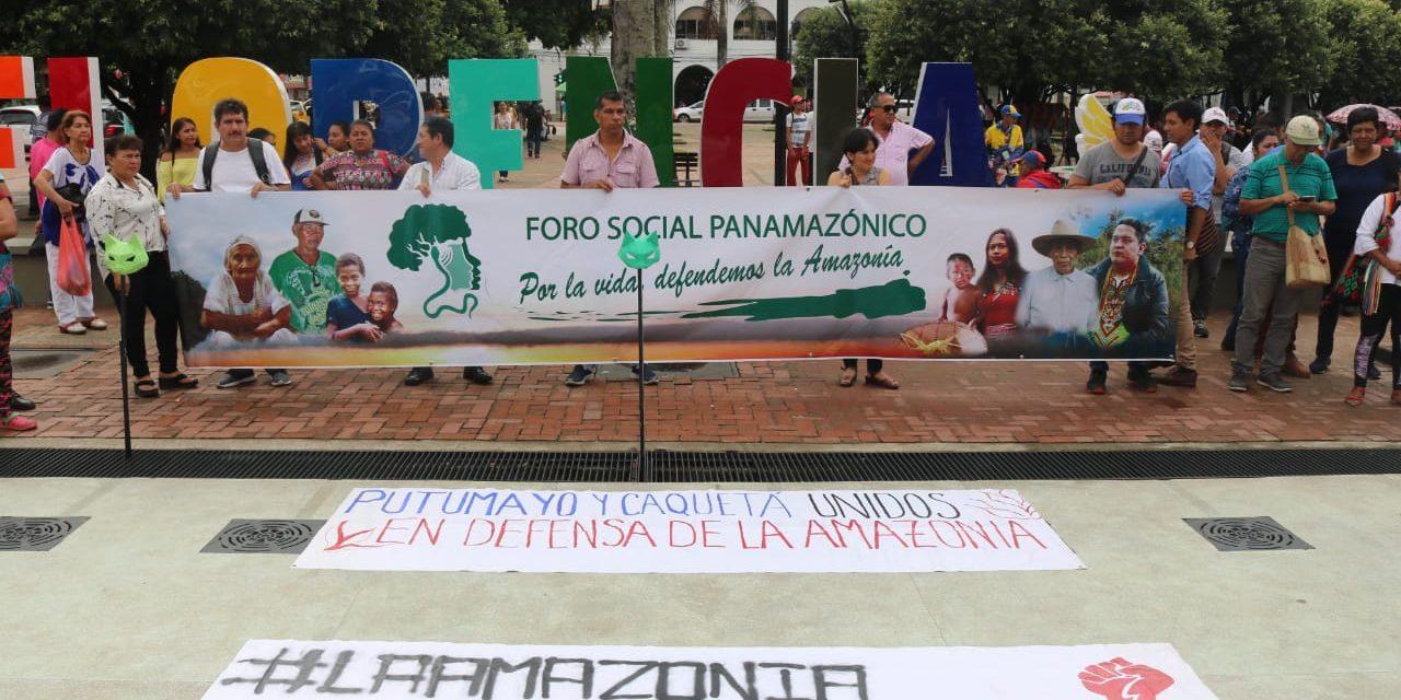 Frente a la economía verde: La Amazonía no se vende