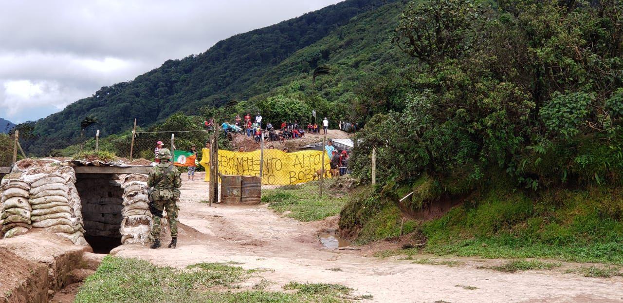 Comunidades del Alto Bobalí logran acuerdo con Ejército para traslado de base militar que afecta su territorio