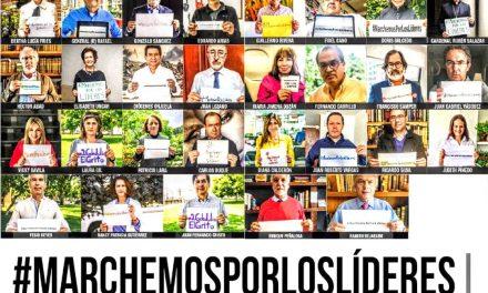 Colombia y el mundo marcharán por los líderes sociales