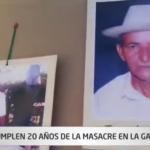 Se cumplen 20 años de la masacre de la Gabarra