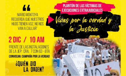 La exclusión de Mario Montoya Uribe de la JEP no se puede seguir dilatando