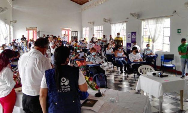 Por silla vacía del gobierno no se instala mesa territorial de garantías de Putumayo