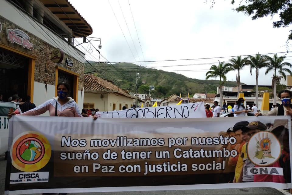Desde Catatumbo exigen: La salud es un derecho fundamental, no un negocio criminal. Fuera vándalos del sistema de salud