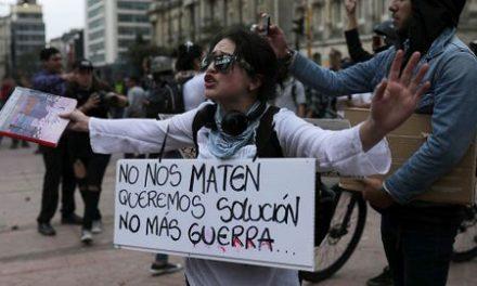 Organizaciones sociales y de DDHH piden frenar la militarización de la protesta social y el restablecimiento de garantías y libertades para la movilización ciudadana en Colombia