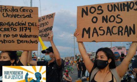 Represión e impunidad en el Paro Nacional: otra consecuencia de la falta de independencia judicial