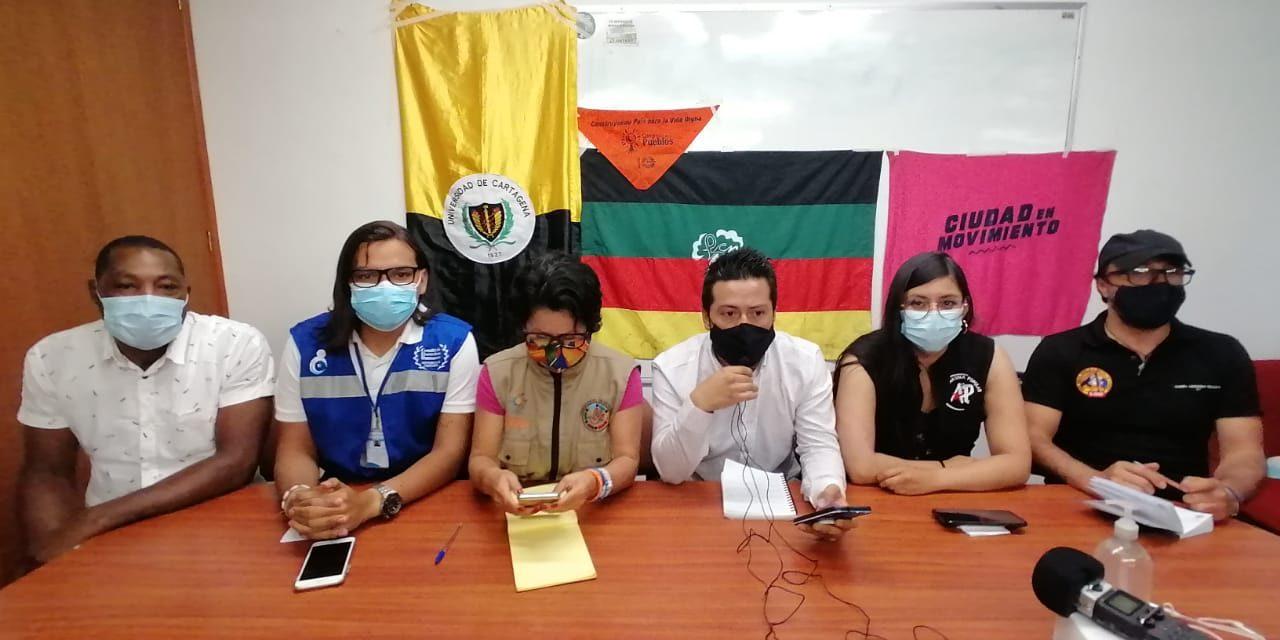 Rueda de prensa: En Cali inicia 2da Asamblea Nacional Popular