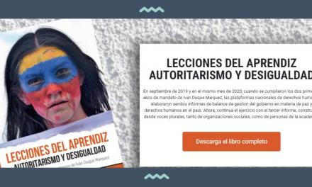Balance del 3er año de gobierno: «Autoritarismo y desigualdad es el legado que está dejando el Gobierno de Iván Duque Márquez»